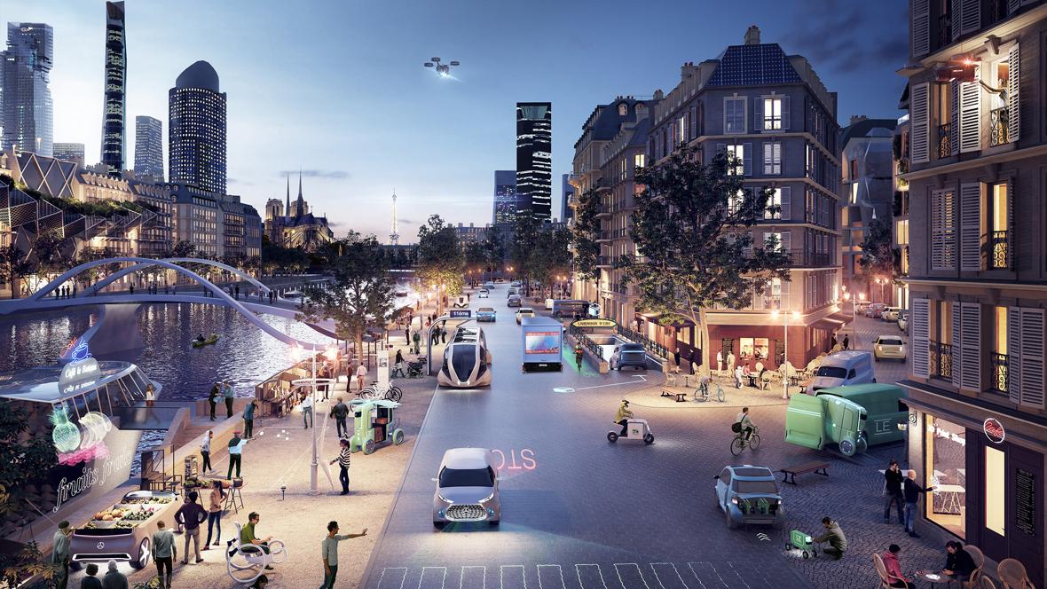 Зміна мобільності в містах: Великісумніви